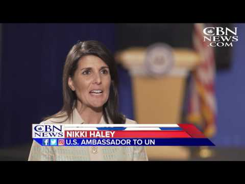Nikki Haley Sounds Off on Trump-Russia Controversy, Western Wall