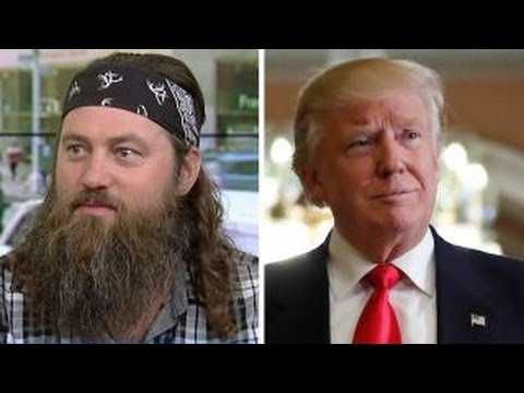 'Duck Dynasty' star Willie Robertson on Trump's victory