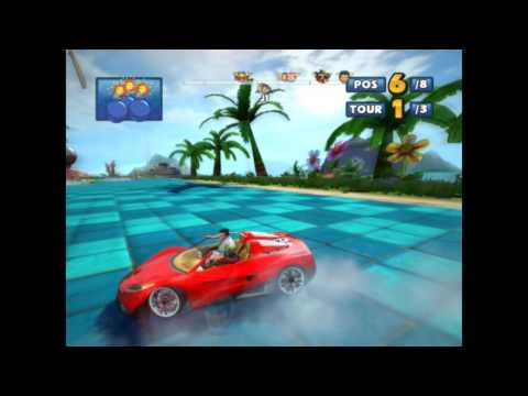 [Coupe Singe] Sonic & SEGA All Stars Racing (Jacky et Akira)