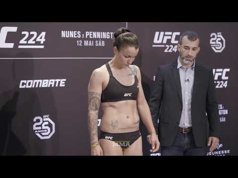 UFC 224 Official Weigh-In Highlights - MMA Fighting