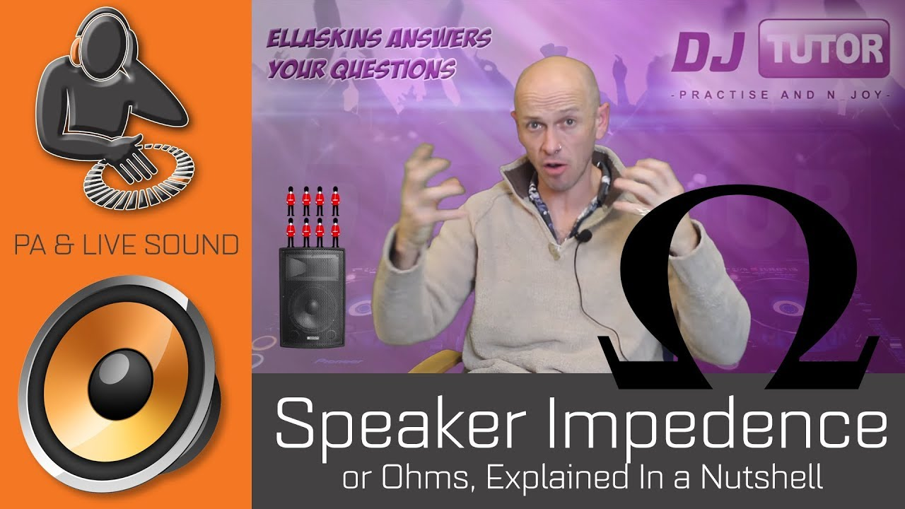 Speaker Impedance Or Ohms Explained In A Nutshell Youtube Difference Between Series And Parallel Wiring Subwoofers