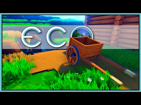 Underground Carts - Eco Gameplay - Part 19 [Let's Play Eco Game / Eco Gameplay]