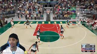 FlightReacts NEW $3,000 Team causes school threat to lose it after Kobe, LBJ & T-Mac did this.. 2K21