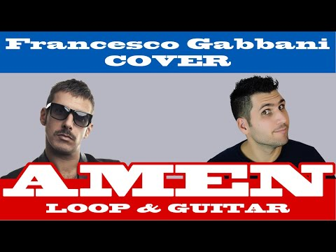 AMEN - Francesco Gabbani LOOP & GUITAR Cover - MICHELE GUERRA