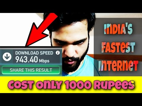 India's Fastest Internet on Very Affordable Price
