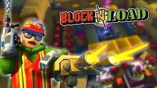 DEFEND ME SNOWMAN! | Block N Load | Engineer Gameplay