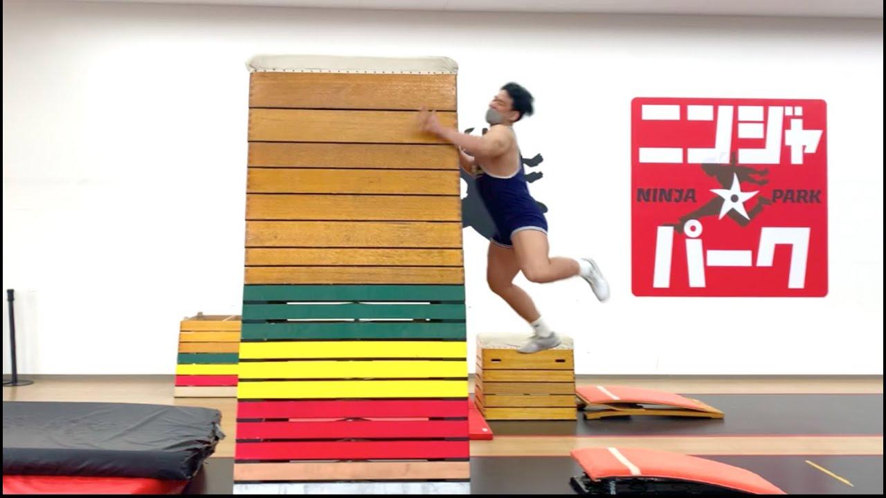 【新記録】107kgのホモが跳び箱21段に挑戦したらヤバい記録出ました