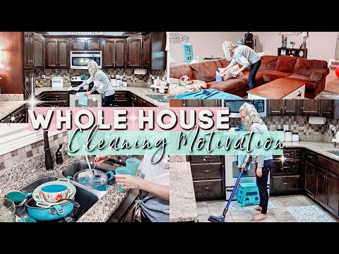WHOLE HOUSE CLEAN WITH ME| EXTREME CLEANING MOTIVATION 2019|CLEANING ROUTINE