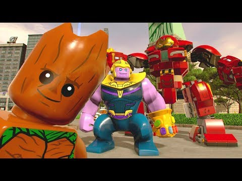 All Avengers: Infinity War Movie DLC Characters + Free Roam - LEGO Marvel Super Heroes 2