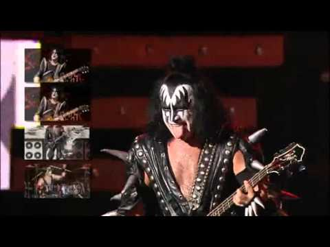 Kiss   War Machine   Rock The Nation Live! Gene Simmons Powervision   HQ