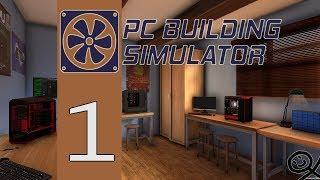 PC Building Simulator | #1 | Čistenie Upgrade Oprava |CZ/SK | Letsplay | 1080p60FPS