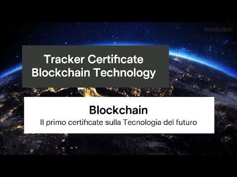 Tracker Certificate Blockchain Technology