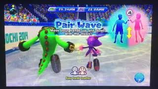 Mario & Sonic at the Sochi 2014 Olympic Winter Games Figure Skating Pairs 279
