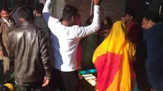 Rajput boys dancing in wedding