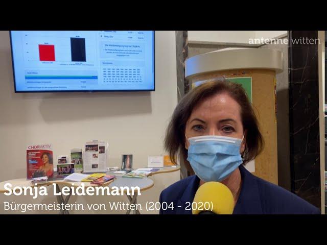 Bürgermeisterin Sonja Leidemann zur Stichwahl in Witten