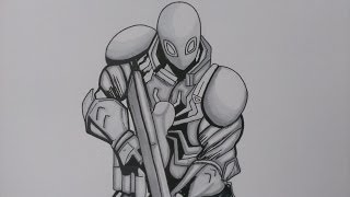 venom marvel drawing agent comics