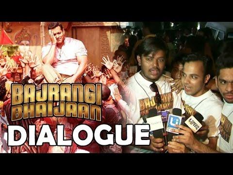 Bajrangi Bhaijaan Dialogue By Fans | Hum Bajrang Bali Ke Bhakt Hai