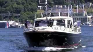 Quality Dutch built steel 2004 Aquanaut 42 Aft Cabin by NW Yachtnet