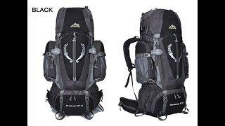 Туристический рюкзак JINSHIWEIQ 80+5л.