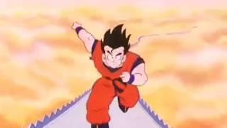Dragon ball Z Goku percorre il Serpentone e sconfigge i due guardiani degli inferi IN ITALIANO
