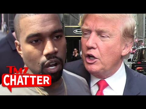 Kanye West Now Anti-Trump, Deletes All Trump Tweets | TMZ Chatter
