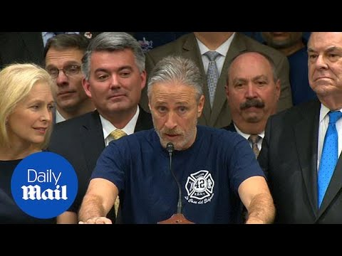 Jon Stewart praises Trump administration's handling of Zadroga Act