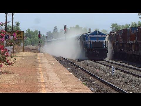 CRACKERS OF KONKAN RAILWAY : Janshatabdi Express + Mangalore Superfast + Konkankanya Express