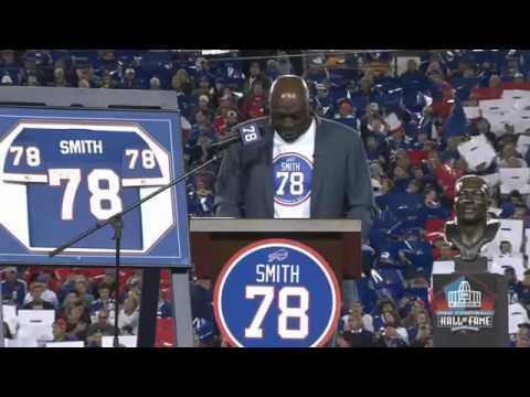 Watch: Bruce Smith Jersey Retirement Ceremony