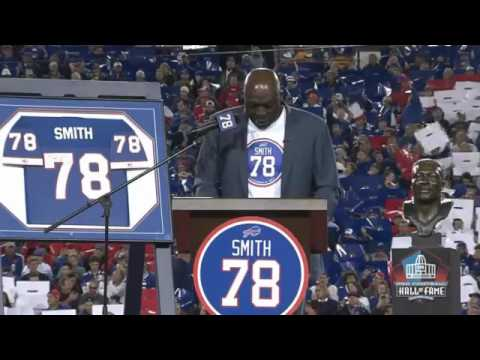 Watch: Bruce Smith Jersey Retirement Ceremony