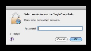 how to remove uninstall key chain pop up's on mac iMac pro