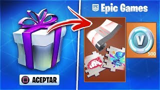 HOW TO GET THE GIFTS TO WATCH THE FORTNITE WORLD CUP
