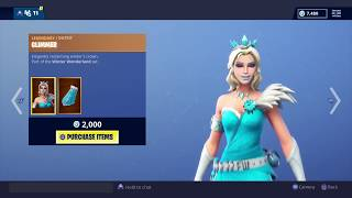 Fortnite: Battle Royale - Season 7- New Skin - Glimmer, Flurry, Crystal Carriage + Unwrapped Emote