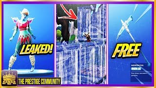 LEAKED Fairy Skin!   Build INVISIBLE Walls   New FREE Frozen Axe! (Fortnite Season 7 Glitches & Tips