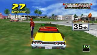 Let's Play - Crazy Taxi - PC  - Gameplay 4K