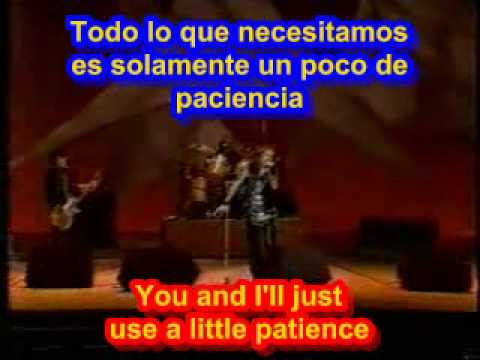 Patience - Guns N Roses (SUBTITULADO INGLES ESPAÑOL ) - YouTube