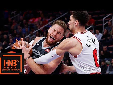 Chicago Bulls vs Detroit Pistons Full Game Highlights | 11.30.2018, NBA Season