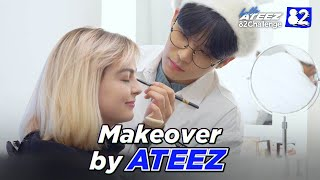 ATEEZ Does Makeup | 82Challenge EP.4