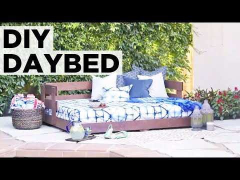 How to Build an Outdoor Daybed - HGTV