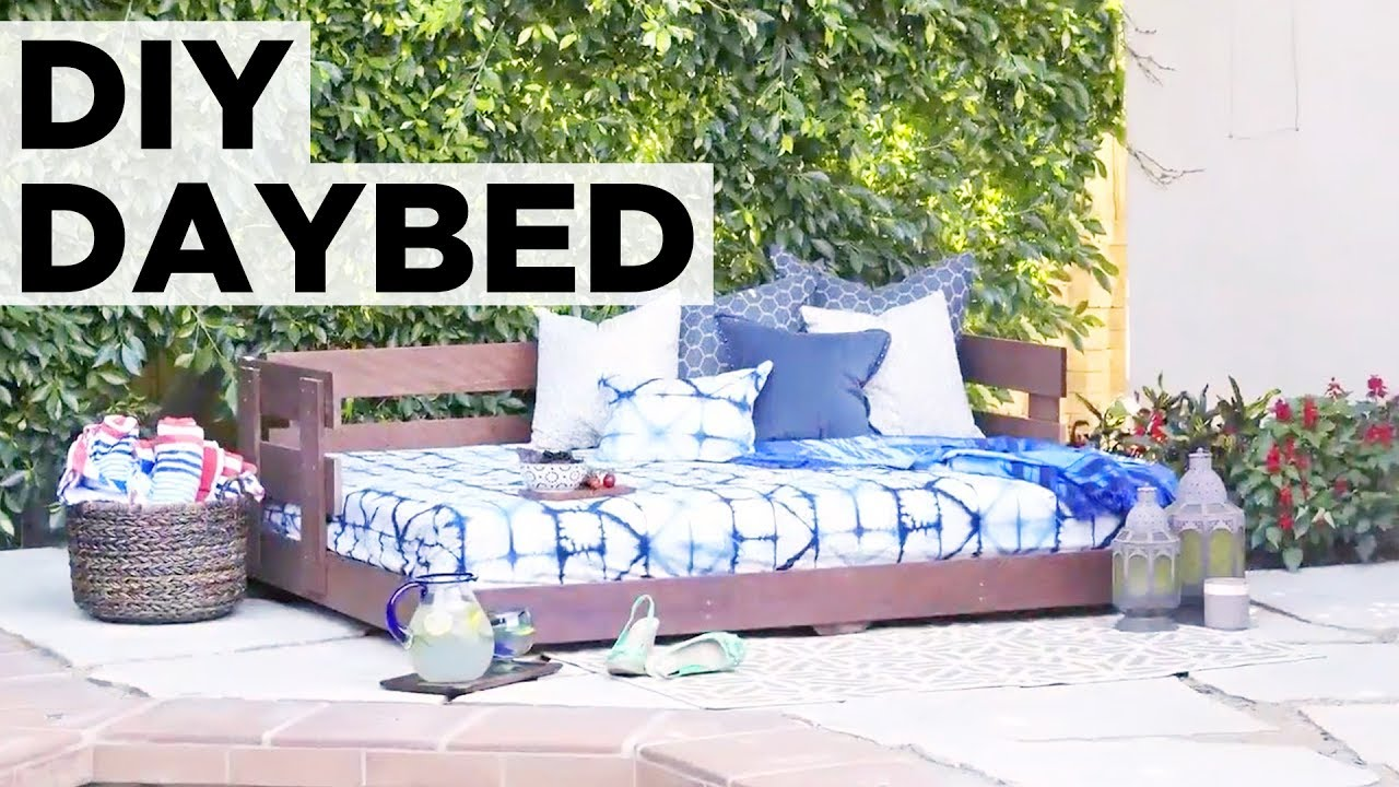 How to build an outdoor daybed hgtv