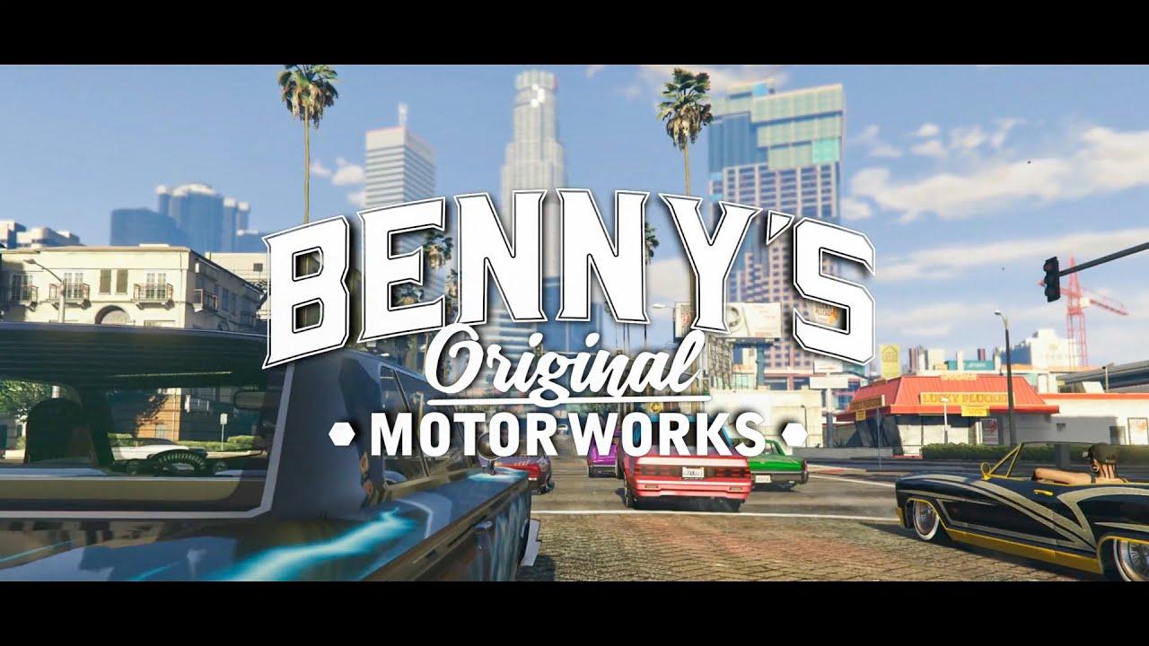 Iphone Default Wallpaper Gta Online Lowriders Benny S Original Motor Works