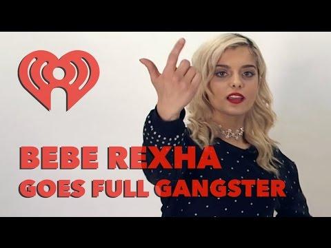 Bebe Rexha Gangster Raps | Exclusive Interview