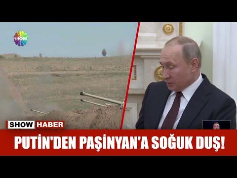 Putin'den Paşinyan'a soğuk