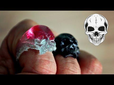 Литье кольца из эпоксидной смолы в силикон