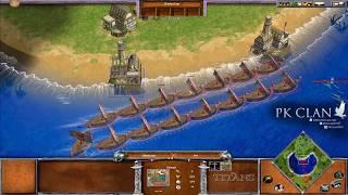 Age of Mythology: TOP EXPERTS Illuminaze Vs. Kimo   $50 Bo5 Commentated Game 3