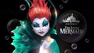 URIEL The Little Mermaid Ariel & Ursula Mix-Multiverse | Monster High Ooak Custom Doll Repaint