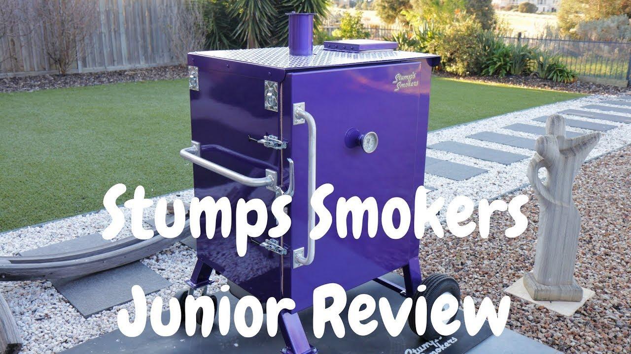 Stumps Junior Gravity Fed Smoker Review Youtube