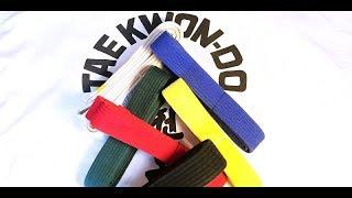 ITF Taekwondo Belt Orḋer & Color Meanings 🥋