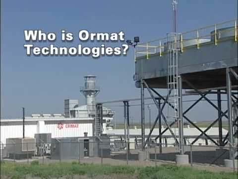who is ormat technologies youtube
