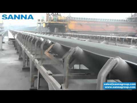 Conveyor Belt,Conveyor Idler&Roller for Coal Transportation Onsite- SANNA