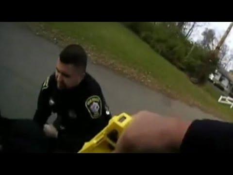 「ごめん、ニック…」警官がスタンガンで撃ったのは相棒